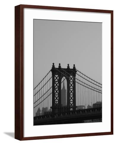 New York City-Keith Levit-Framed Art Print