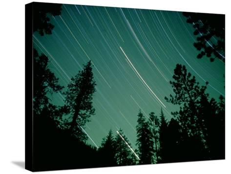 Star Circles, Sierra Nevada, USA-Olaf Broders-Stretched Canvas Print