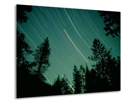 Star Circles, Sierra Nevada, USA-Olaf Broders-Metal Print