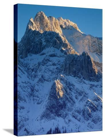 Karwendel Mountains, Austria-Olaf Broders-Stretched Canvas Print