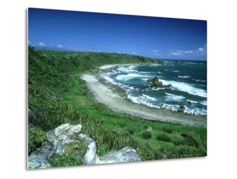 Cape Foulwind, New Zealand, Named by Captain Cook-Robin Bush-Metal Print