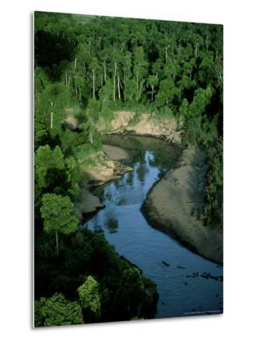 Mara River, Kenya, East Africa-Martyn Colbeck-Metal Print