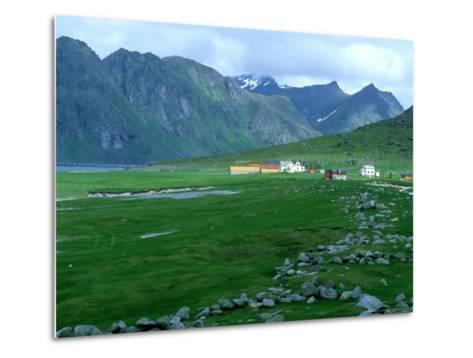 Fishing Community, Norway-William Gray-Metal Print