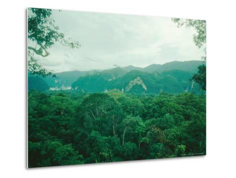 Mulu National Park, Borneo, Weather Time-Lapse, 6Pm-Rodger Jackman-Metal Print