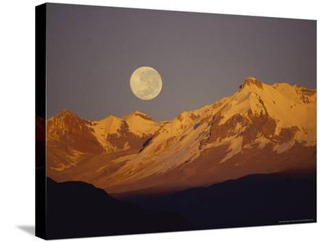 Proposed Condor Sanctuary, Peru-Mark Jones-Stretched Canvas Print
