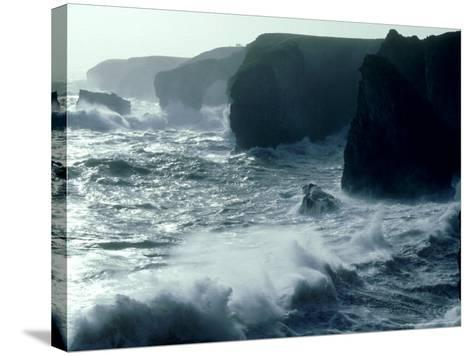 Force 8 Gale, Pembrokeshire-O'toole Peter-Stretched Canvas Print