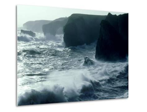 Force 8 Gale, Pembrokeshire-O'toole Peter-Metal Print