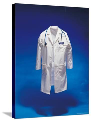 Lab Coat-Michelle Joyce-Stretched Canvas Print