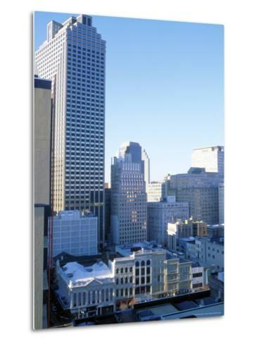 West Towards Canal and Central Business District-Barry Winiker-Metal Print
