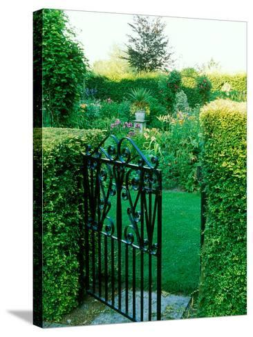 Large Cottage Style Garden, with Colourful Herbaceous Borders-Lynn Keddie-Stretched Canvas Print