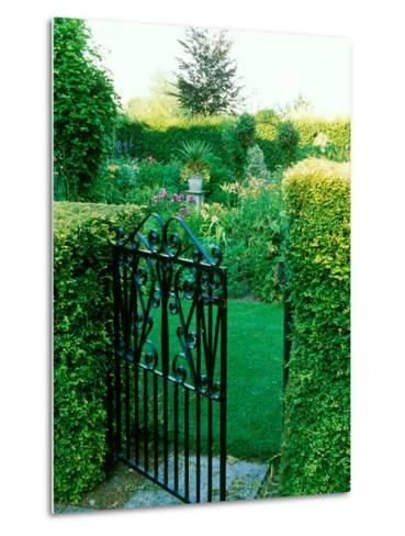 Large Cottage Style Garden, with Colourful Herbaceous Borders-Lynn Keddie-Metal Print