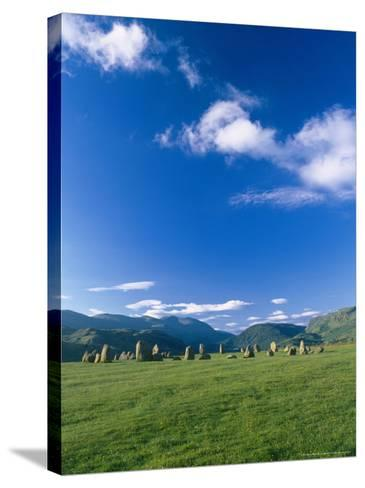 Castlerigg Stone Circle, the Lake District, UK-Ian West-Stretched Canvas Print
