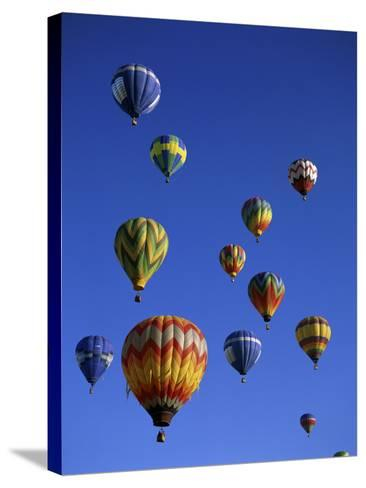 Kodak Albuquerque International Balloon Fiesta New Mexico USA--Stretched Canvas Print