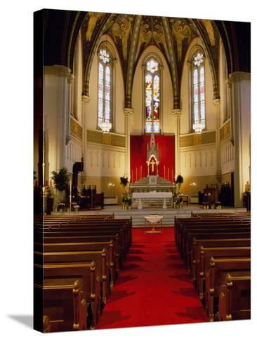 St. John's Church, Indianapolis, Indiana, USA--Stretched Canvas Print