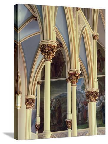 Cathedral of St. John the Baptist, Savannah, Georgia, USA--Stretched Canvas Print
