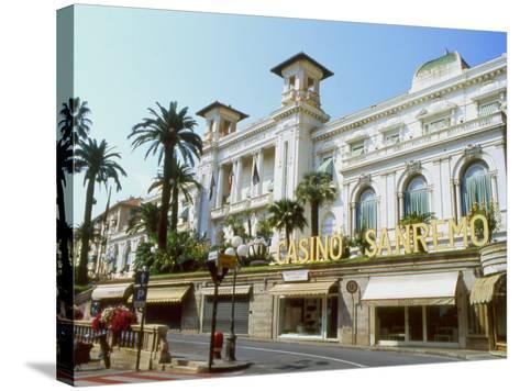 San Remo Casino, San Remo, Italy--Stretched Canvas Print