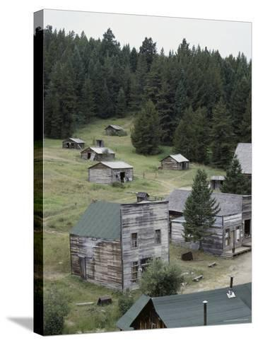 Garnet Ghost Town, Montana, USA--Stretched Canvas Print