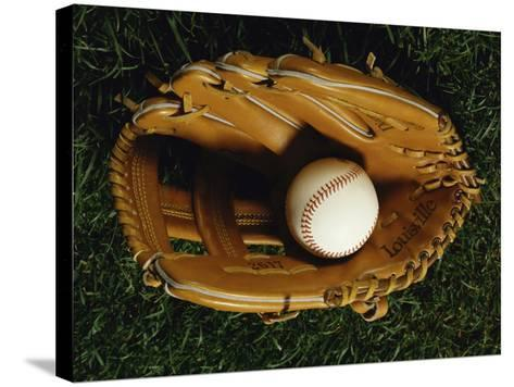 Baseball Still Life--Stretched Canvas Print