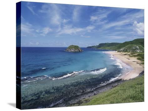 Praia Leon, Fernando de Noronha, Brazil--Stretched Canvas Print