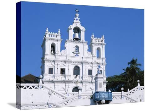 Church of Our Lady of the Immaculate Conception, Panaji, Goa, India--Stretched Canvas Print