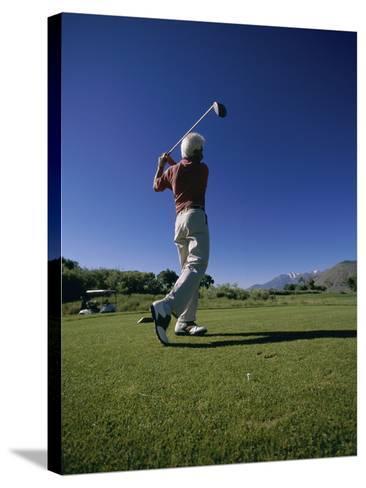 Golf Club at Genoa Lakes, Nevada, USA--Stretched Canvas Print