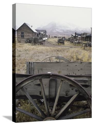 Old Trail Town, Cody, Wyoming, USA--Stretched Canvas Print
