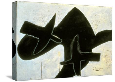 Reclining Nude-Georges Braque-Stretched Canvas Print