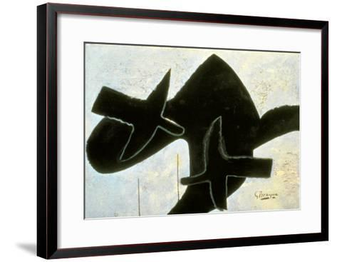 Reclining Nude-Georges Braque-Framed Art Print