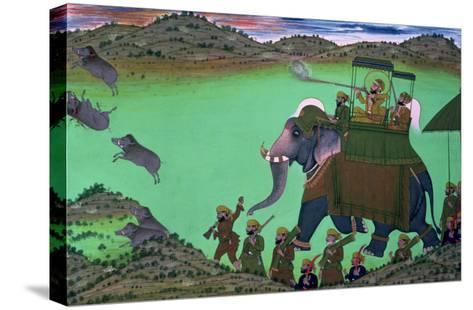 Raja Sarup Singh--Stretched Canvas Print