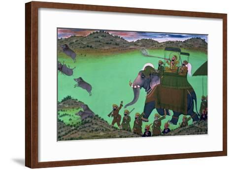 Raja Sarup Singh--Framed Art Print