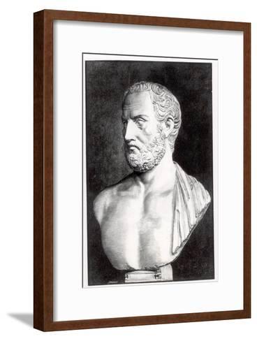 Bust of Thucydides-Felix Jules Lacaille-Framed Art Print