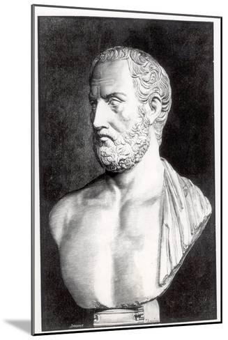 Bust of Thucydides-Felix Jules Lacaille-Mounted Giclee Print