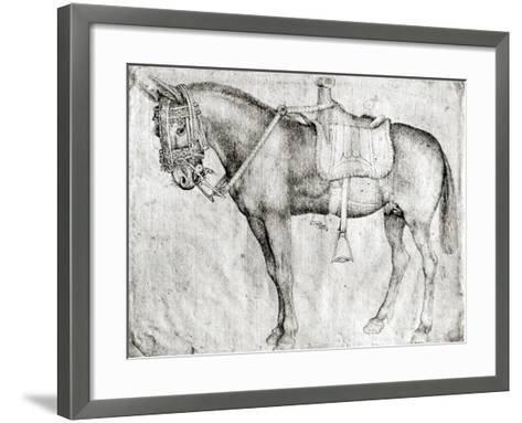 Mule-Antonio Pisani Pisanello-Framed Art Print