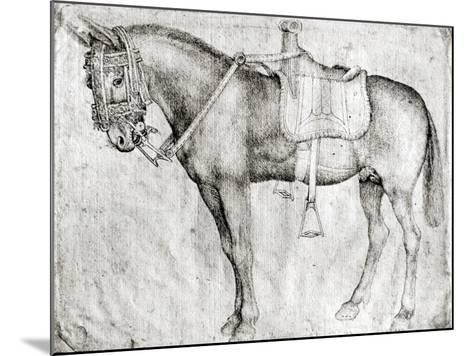 Mule-Antonio Pisani Pisanello-Mounted Giclee Print