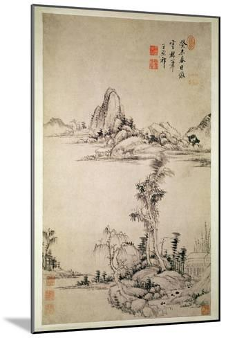 Landscape-Wang Chi-Yuan-Mounted Giclee Print