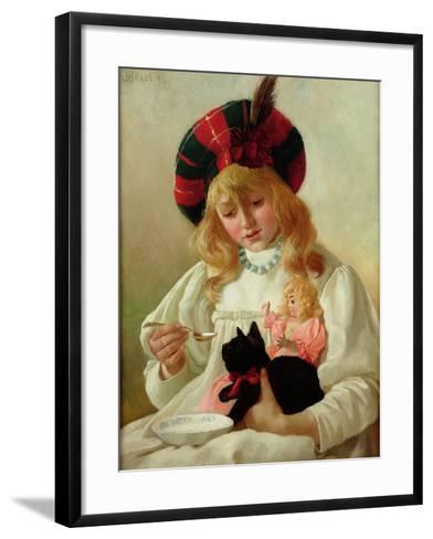The Favourites, 1895-Charles Henry Blair-Framed Art Print