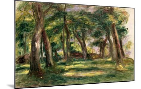 Trees-Pierre-Auguste Renoir-Mounted Giclee Print