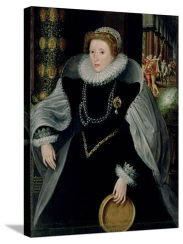 Portrait of Queen Elizabeth I-Or Zuccaro, Federico Zuccari-Stretched Canvas Print