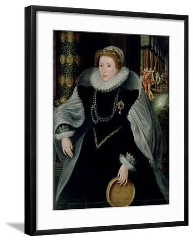 Portrait of Queen Elizabeth I-Or Zuccaro, Federico Zuccari-Framed Art Print