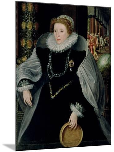 Portrait of Queen Elizabeth I-Or Zuccaro, Federico Zuccari-Mounted Giclee Print