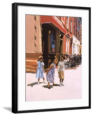Harlem Jig, 2001-Colin Bootman-Framed Art Print