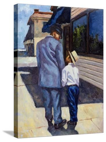 The Education of a King, 2001-Colin Bootman-Stretched Canvas Print