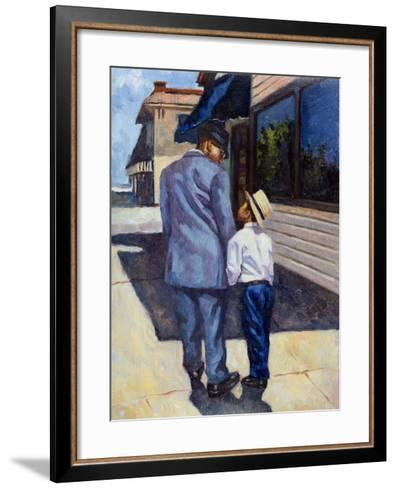 The Education of a King, 2001-Colin Bootman-Framed Art Print