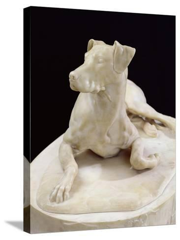 Dog, 1827-Pierre-francois-gregoire Giraud-Stretched Canvas Print