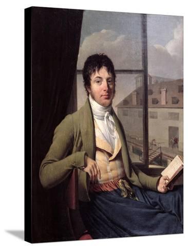 Jean Antoine Chaptal-Louis Bouchot-Stretched Canvas Print