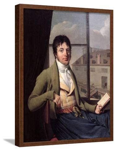Jean Antoine Chaptal-Louis Bouchot-Framed Art Print