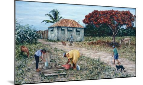 Wash Day-Victor Collector-Mounted Giclee Print