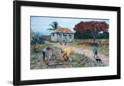 Wash Day-Victor Collector-Framed Art Print