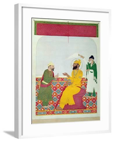 Guru Govind Singh--Framed Art Print