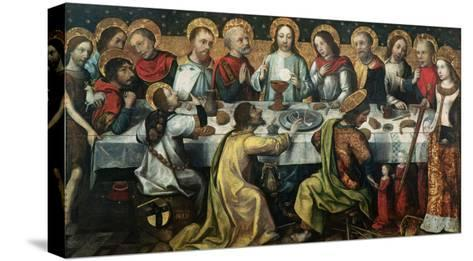 The Last Supper, 1482- Godefroy-Stretched Canvas Print